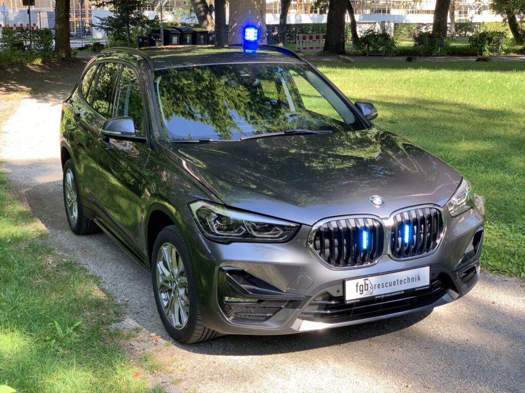 BMW X1 KDOW verdeckt mit Hänsch Movia LED