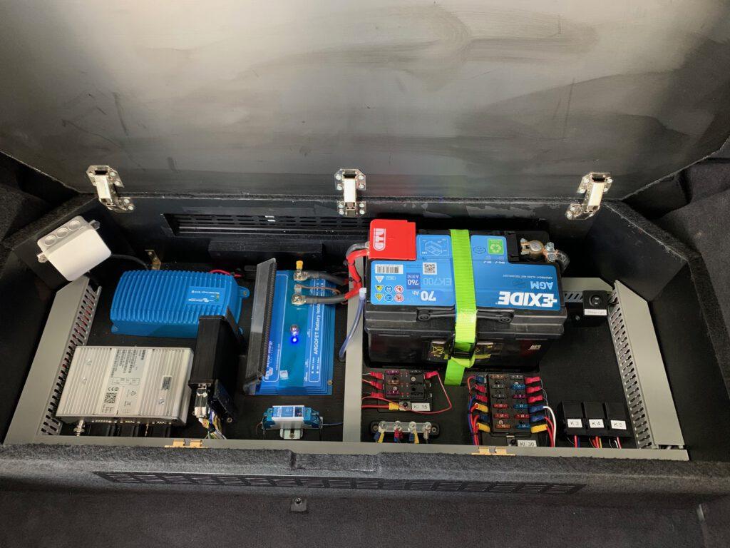 Batterie Management im HVO-Maxhütte