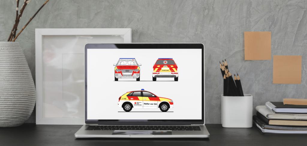 Homeoffice Battenberg Design Audi Q3
