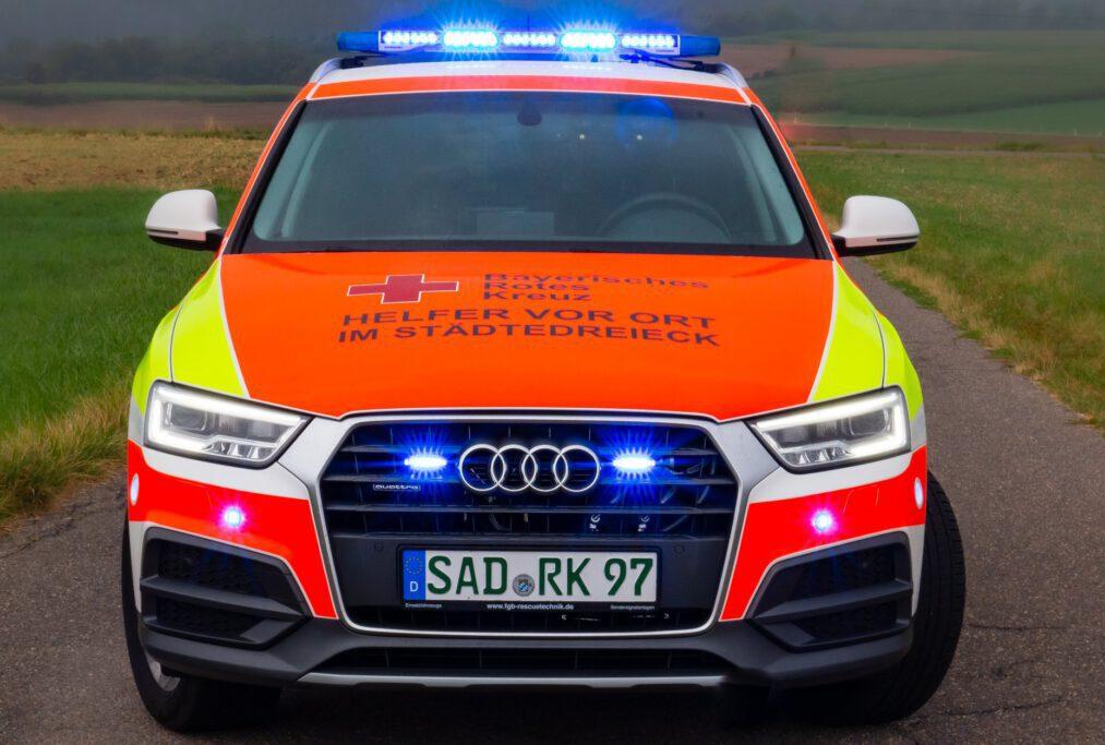 Front HVO Maxhütte Audi LED Blaulicht Standby