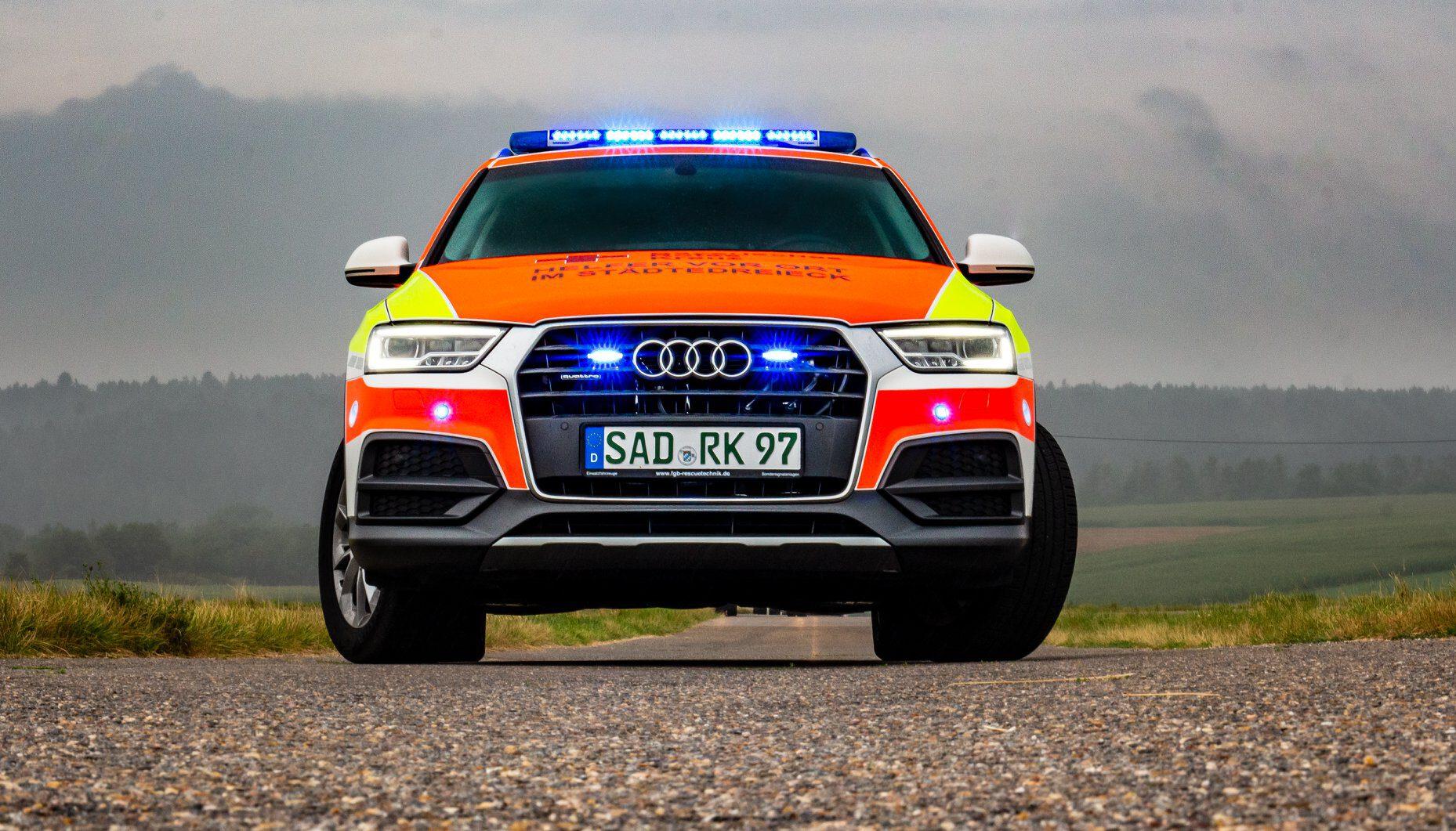 HVO BRK Maxhütte Audi Q3 Front